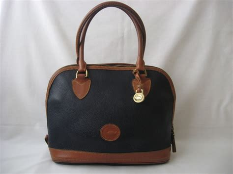 Ralph Lauren Home Decor by Vintage Dooney And Bourke Handbag Satchel All Leather Tote