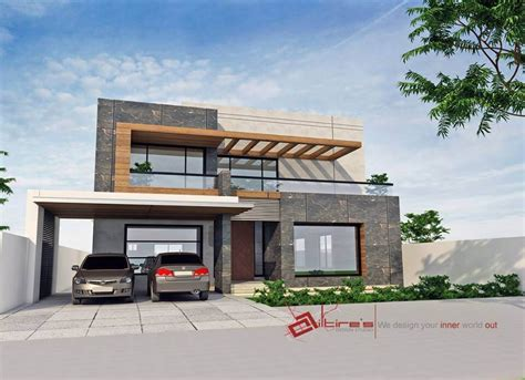 3d front elevation com new 1 kanal contemporary house 1 kanal house 3d front elevation house design homes 3d