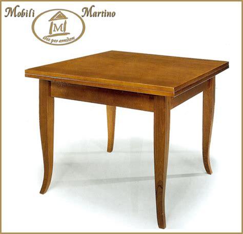 ebay tavoli tavolo quadrato a libro in legno arte povera noce 90x90