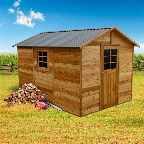 master shed 8x12 timber garden shed 2 53m x 3 64m with