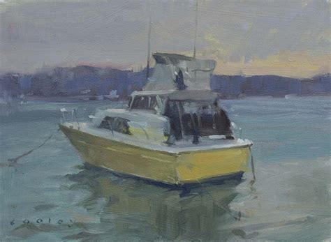 yellow boat paint the yellow boat cooley art gallery