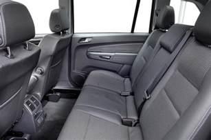 Vauxhall Zafira How Many Seats Vauxhall Zafira 2005 2014 Interior Autocar