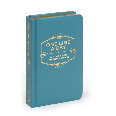 one line a day five years of memories blue marble ink a five year memoir 6x9 dated and lined diary one line a day a five year memory book books one line a day five year memory book eco paper at vickerey