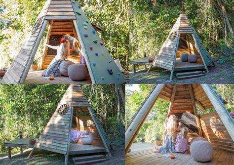 backyard teepee 25 diy reclaimed wood projects for your homes outdoor