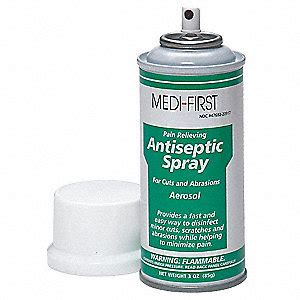 Antiseptic Spray medi antiseptic spray spray can 3 oz 3val3 20917