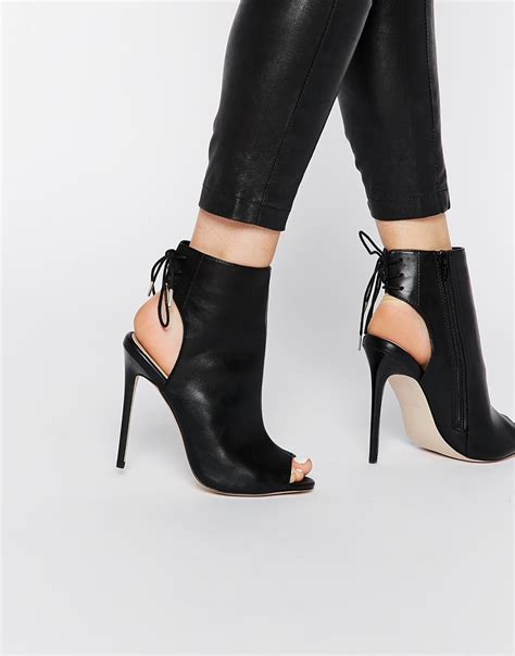 Scorah Pattullos Shoe Boot At Asos by Asos East Town Peep Toe Shoe Boots Stuff To Buy