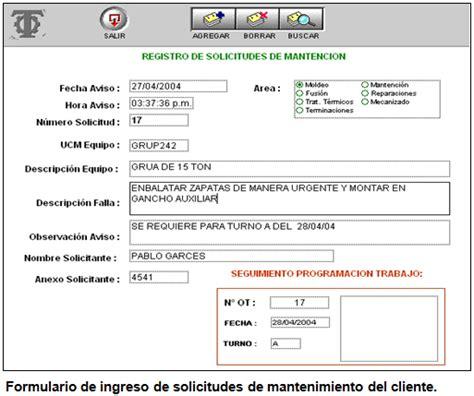 inocuidad y calidad en alimentos bebidas formato para formatos de trabajo de mantenimiento registro de