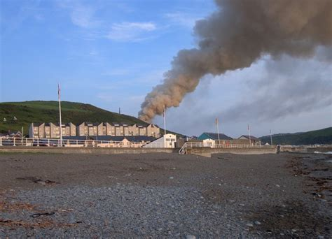 Southwestern Houses File Grass Fire On Dinas Hill Aberystwyth Geograph Org
