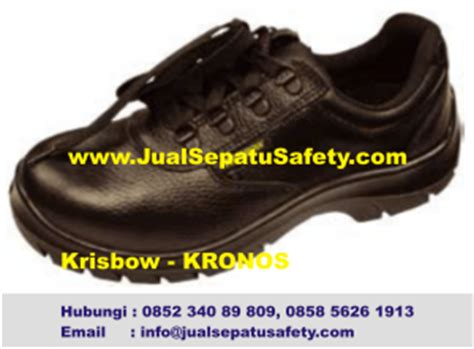 Krisbow Safty Shoes Kronos distributor safety shoes krisbow kronos hp 0852 340 89