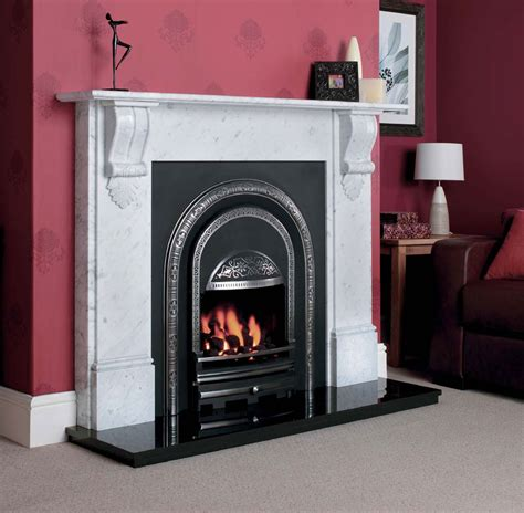 York Fireplace by Ashbourne Integra High Performance Arch Cast York