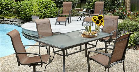 Patio Furniture Kmart Clearance Kmart Patio Clearance 70 10 Pc Patio Set Only 180 Mylitter One Deal At A Time