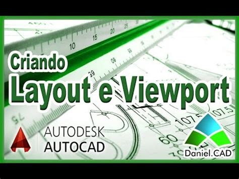 Criando Layout E Viewport | autocad 2014 criando layout e viewport formato a4