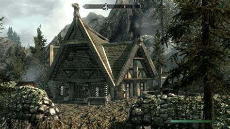 small house at skyrim nexus mods and community
