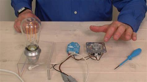 dimmen led verlichting aansluiten led verlichting dimmen met de led dimmer eud61npl van