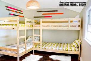 Bunk Beds In A Small Room Classic Bunk Beds Small Childs Room Jpg 795 215 530 Space Saving Bedrooms Small