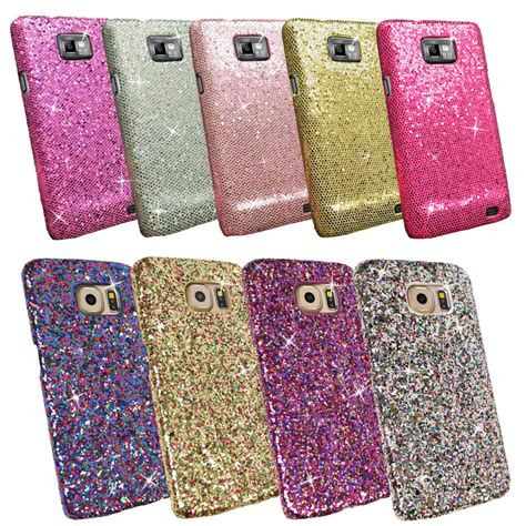 mobile phone cases and covers bling glitter sparkling sequin textured cover for