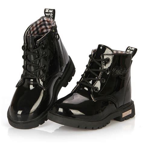 Snow Boots Martin Boots Korean Factory Outlets Waterproof Ladiess children s shoes 2017 children korean version of boots leather waterproof boots snow boots
