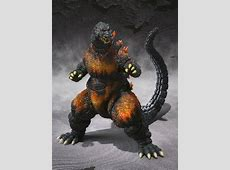 S.H. MonsterArts Burning Godzilla (1995) Action Figure G Reborn