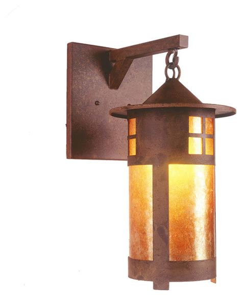 Hanging Wall Sconce Hanging Sconce Pasadena Rustic Wall Sconces By