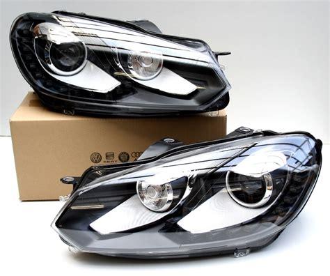 Golf 5 Auto Licht Nachr Sten by Vw Xenon Led Golf 6 Vi Scheinwerfer Tagfahrlicht