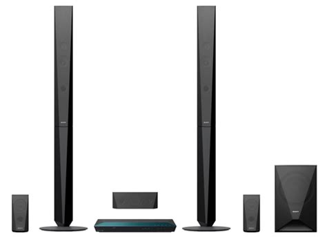 sony bdv e4100 5 1ch bluray disc home theatre system in