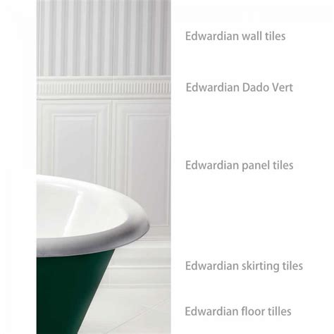 imperial bathroom tiles imperial bathrooms edwardian wall tiles 30 x 60cm uk