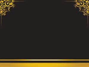 luxury frame ppt backgrounds black border amp frames