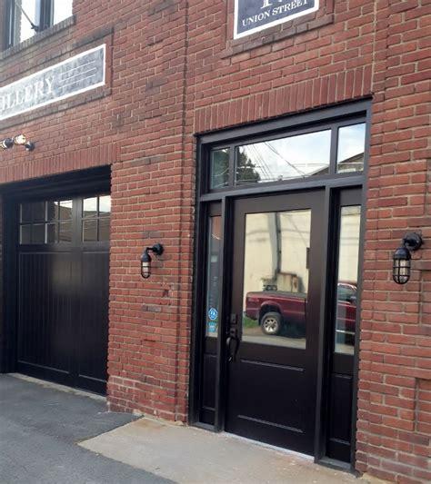 Industrial Exterior Doors Industrial Lighting Adds Splash Of Early 20th Century