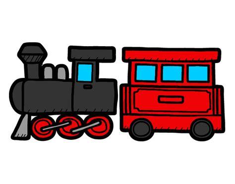 treno clipart disegno treno allegro colorato da enzuccio il 09 di marzo