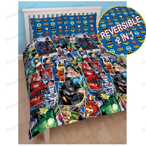 dc comforter dc comics batman superman duvet cover and pillowcase
