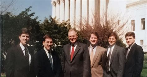 neil gorsuch and brett kavanaugh how gorsuch the clerk met kennedy the justice a tale of
