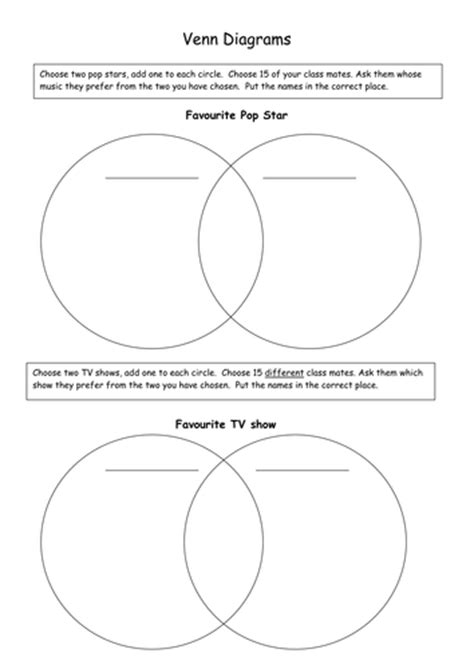 teaching venn diagrams ks2 venn and carroll diagrams by stuffedcrust teaching