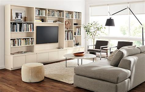 modern furniture room board keaton bookcases living room modern living room