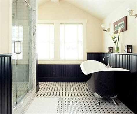 bathroom tiles black and white ideas 25 black and white mosaic bathroom tile ideas and pictures