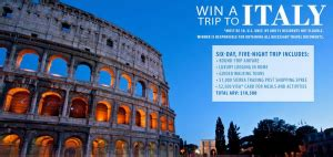 Sierra Trading Post Gift Card - sierra trading post rome italy trip sweepstakes win a trip for 2 to rome more