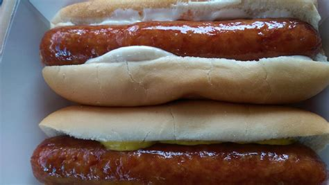 Roller grill items 2/$2.50 right now. Breakfast of champions!   Yelp