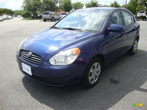 Blue Hyundai Accent by 2009 Sapphire Blue Hyundai Accent Gls 4 Door