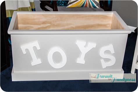 built  toy box
