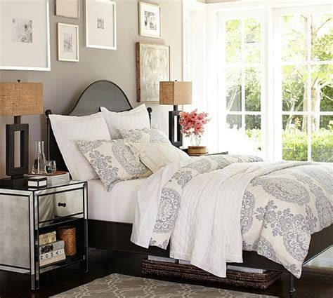 pottery barn bedroom colors alameda bed headboard pottery barn bedroom colors