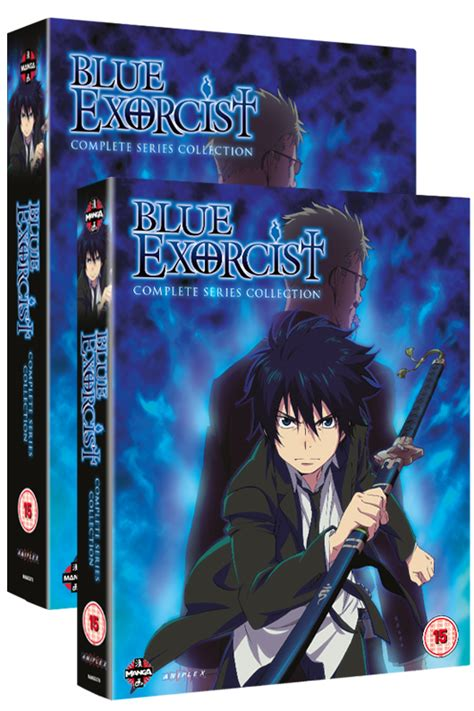 blue exorcist box set blue exorcist the complete series collection on