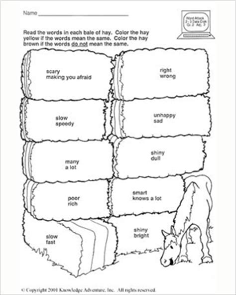 printable english worksheets for 7 year olds printable activities for 7 year olds coloring pages for 9