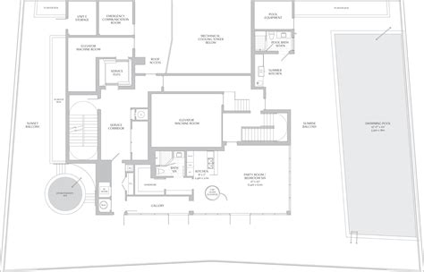 layout of laundry in 5 star hotels kitchen turnberry ocean club condominium sunny isles beach