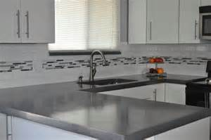 Glass Backsplashes For Kitchens concrete countertops envison traditional kitchen