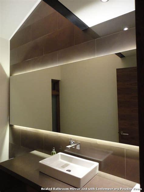 heated bathroom mirro heated bathroom mirrors with lights