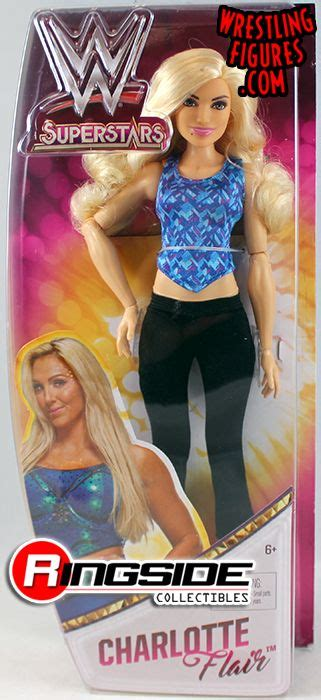 charlotte flair pop figure charlotte flair wwe superstars doll toy wrestling action