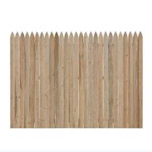 home depot wood fence 6 ft x 8 ft spruce pine fir fence panel 131121 at
