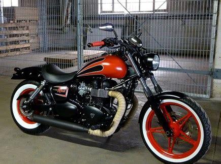 Motorrad Tuning Stuttgart by Custom Bikes Und Motorrad Umbauten Des H 228 Ndlers Triumph