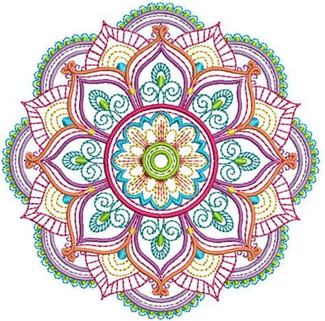 mandala embroidery patterns mandalas pattern coloring marvelous mandalas set 1