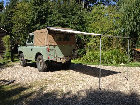 Awning Land Glossop Caravans by 2 5 X 2 5m Land Rover Vw 4x4 Cervan Caravan Pull Out