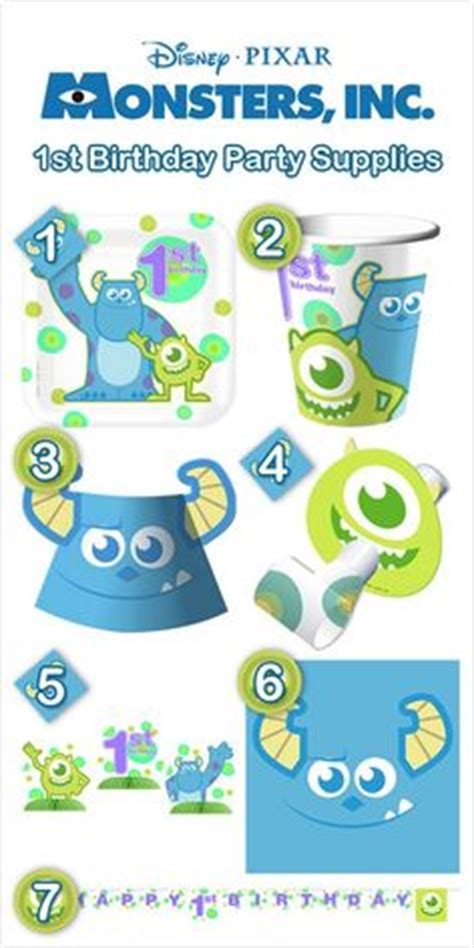 themes line monster inc monster inc party on pinterest monster inc party